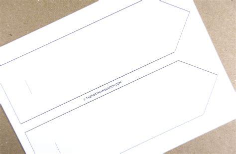 folded card template printable folded card template the postman s knock