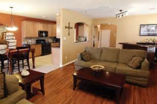 Kitchen Dining Room Living Room Open Floor Plan What Color Flooring Choice For Any Room One Decor