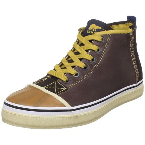 sorel shoes sorel sorel mens sentry chukka leather shoe in brown for