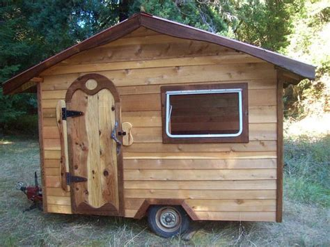 trailer for tiny house tractor trailer tiny house build diy cozy home