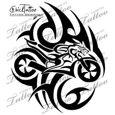tribal motorcycle tattoos marketplace tribal sportbike 11413