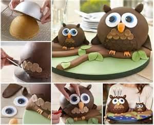 owl cake diy recipe alldaychic