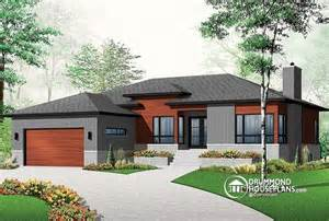 modern bungalow house plans w3280 affordable ranch bungalow with home office open