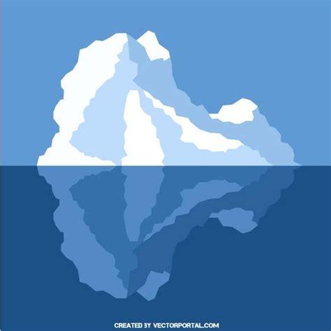 clipart iceberg iceberg clip at vectorportal