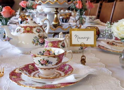 tea table settings ideas how to set the table for tea eight helpful tips tea