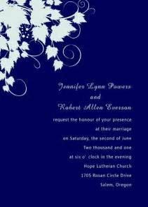 Bride And Groom Advice Cards Simple Royal Blue Pocket Wedding Invites With Free Rsvp Cards Ewpi060 As Low As 1 69