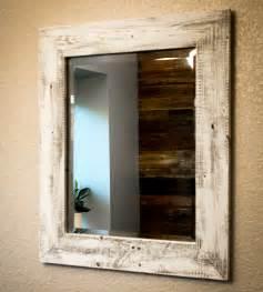 reclaimed wood bathroom mirror whitewashed reclaimed wood mirror home decor lighting