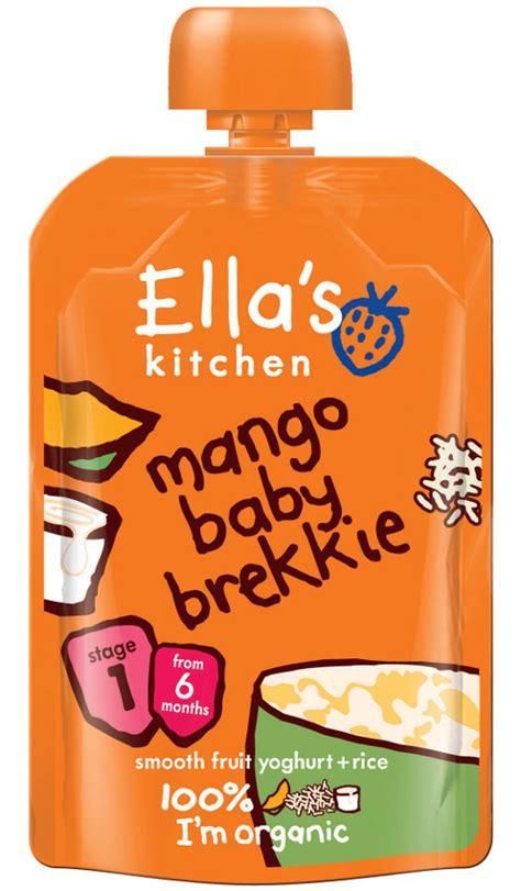 Kitchen Baby Ella S Kitchen Baby Brekkie Mango 100g Ella S Kitchen
