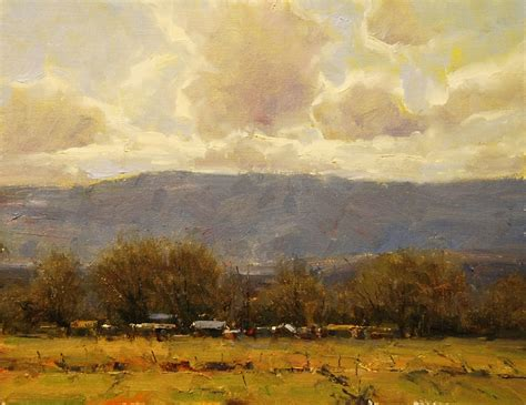landscape and western art dan young artist western landscape oil and landscaping