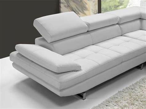 canape blanc cuir design photos canap 233 d angle cuir blanc design