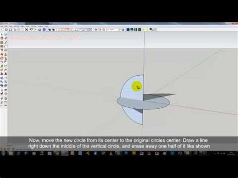 google sketchup cone tutorial create a ball sphere shape in sketchup doovi