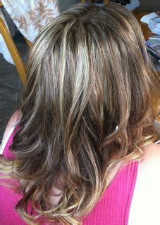 highlights to hide white hair frosted hair to cover gray lowlights on gray white hair