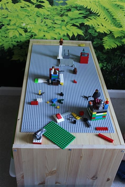 diy lego table adhesive diy ikea lego table aka the secret project the day the glue gun let me