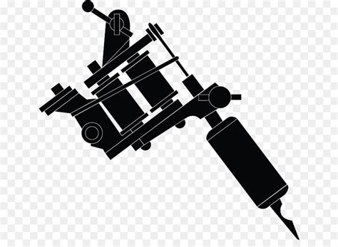 tattoo machine with circle slot frame stock vector machine royalty free clip gun cliparts