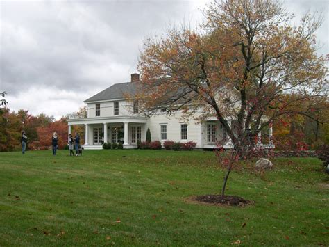 Colonial Farmhouses by Beckwith Group Architects Greek Revival Residential