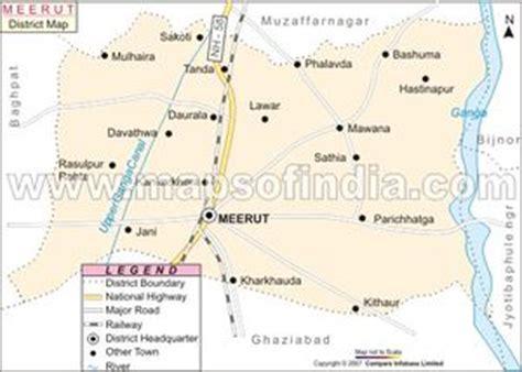 meerut on india map meerut jatland wiki