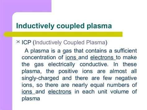 inductively coupled plasma icp inductively coupled mass spectrometry