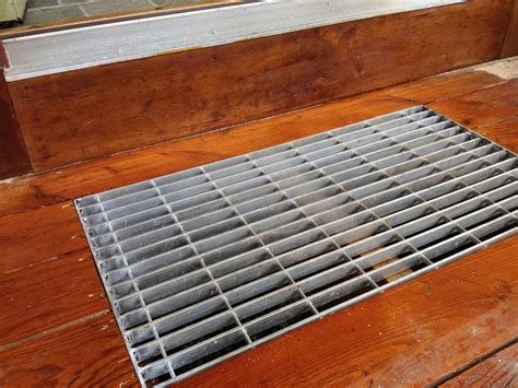 10 by 12 floor grate aluminum door aluminum door grate