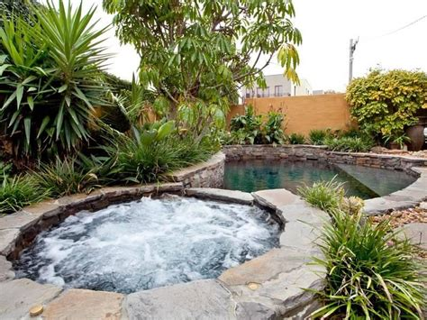 landscaped gardens ideas landscaped garden design using pebbles with pool