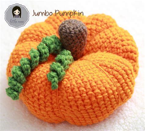 Jumbo Pumkin jumbo ami pumpkin allfreecrochet