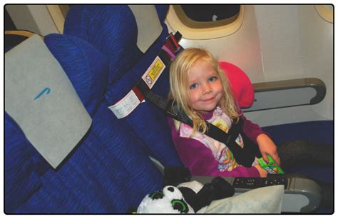 booster seat for 2 year on plane flying with a 2 year sprouts en route
