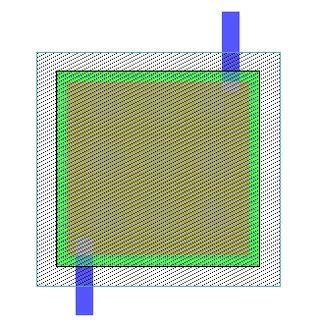 layout editor capacitance figure a 8 basic two stage cmos op with c c