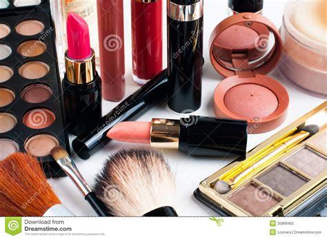 1 Set Makeup Makeover makeup and cosmetics set stock photo image of