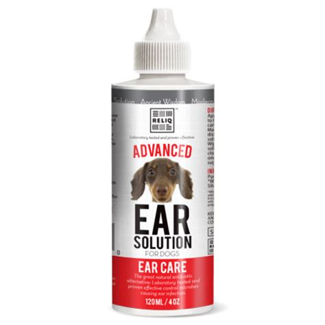 ear solution for dogs advanced ear cleaning solution for dogs cats 4oz