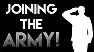 i m joining the army