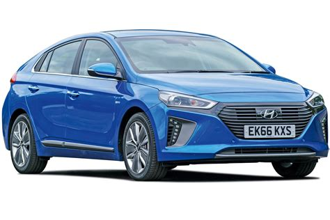 hybrid cars hyundai ioniq hybrid mpg co2 insurance groups carbuyer