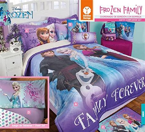 frozen queen comforter set frozen family softy comforter set 10pc full size and