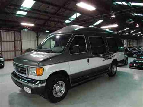 how petrol cars work 2007 ford e250 engine control buy used 2007 ford e 250 extended custom tuscany conversion van in houston texas united states