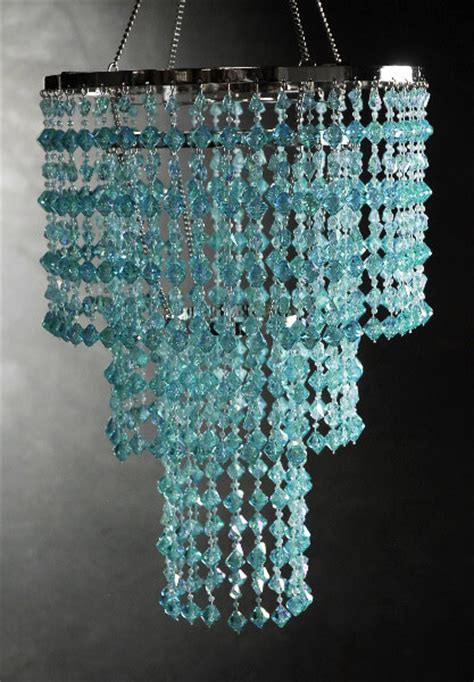 light blue chandelier crystals aqua blue crystal 3 tier chandelier 16x10