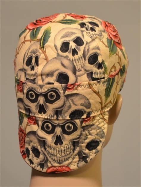 rose tattoo welders cap
