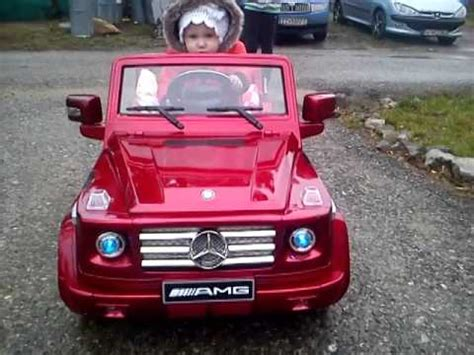 kid car electric kid car mercedes 174 g55 amg 12v