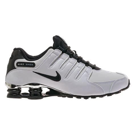 Nike Shox R4 Black White Premium nike shox nz premium white black mens trainers ebay