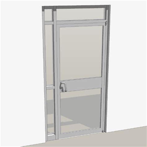 single door storefront entry 3d model formfonts 3d models textures
