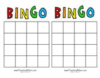 bingo credit card template free printable bingo books literacy
