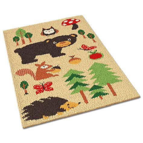 Teppich Waldtiere