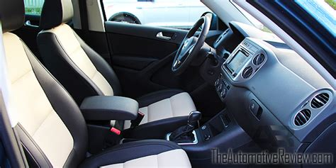 volkswagen tiguan white interior 2017 volkswagen tiguan review the automotive review