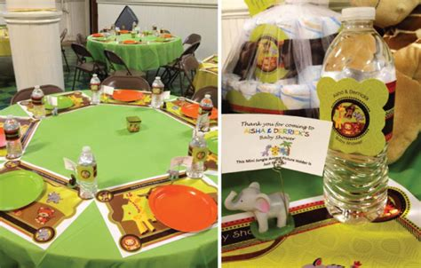 jungle theme baby shower table decorations safari baby shower table decorations 16624