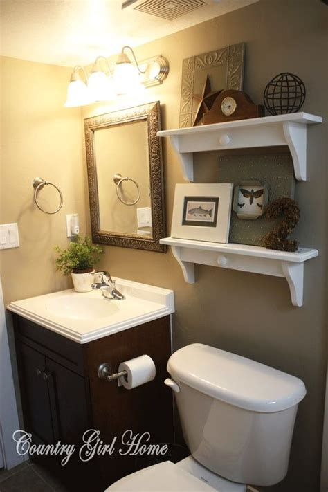 ideas for small guest bathrooms country girl home bathroom redo ba 241 o bathroom