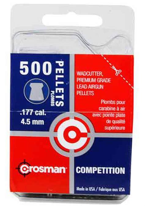 Wadcutter Pellets 177 Cal 500 Ct crosman competition wadcutter 177 cal 7 4 gr 500 ct
