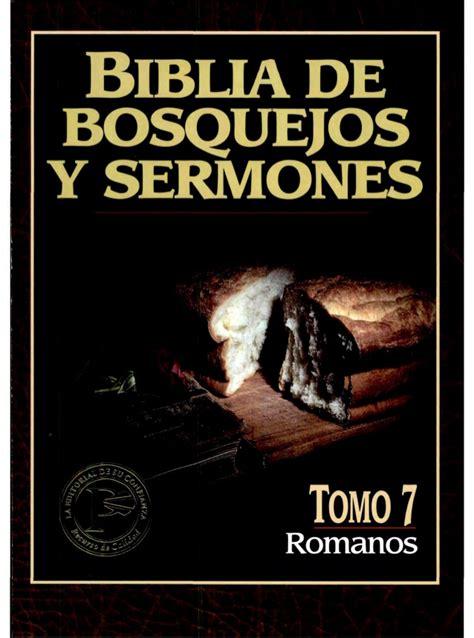 la biblia para nios 8467752378 biblia de bosquejos y sermones romanos vol 7 sagrada