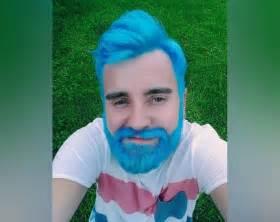 mens hair colour baby merman hair more proof that guys like flair too mnn