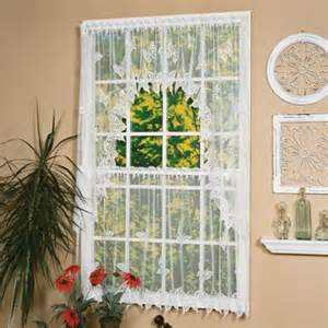 30 inch curtains buy heritage lace 174 dragonfly 30 inch window curtain tier