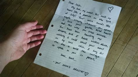 Letter From Secret Admirer Write A Secret Admirer Letter And Mail It To Someone By