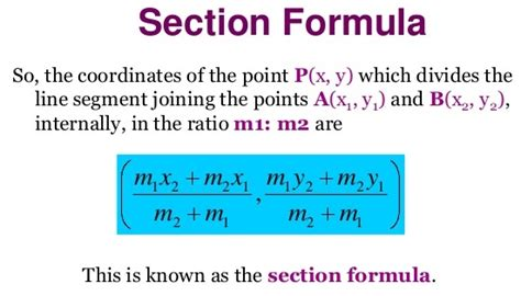 What Is Section Formula by Section Formula Archives A Plus Topper