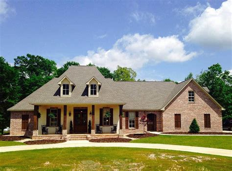 louisiana house plans acadian plans architectural designs
