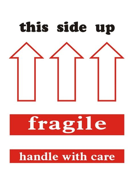 shipping label this side up 4 x 6 quot shipping labels quot this side up fragile quot